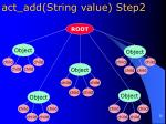 act add string value step2