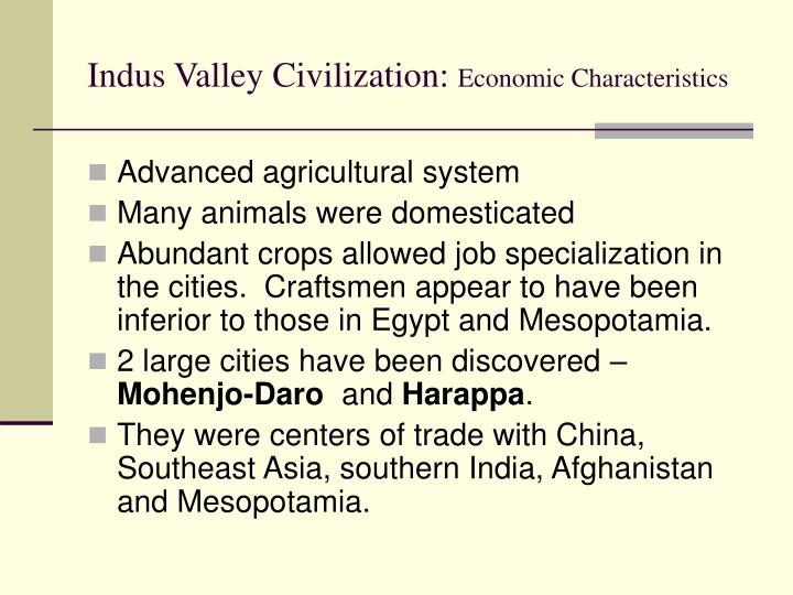 Indus Valley Civilization: