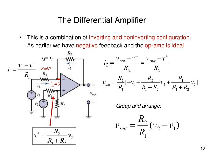The Differential Amplifier