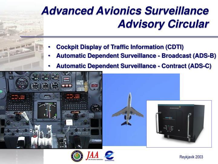 Advanced Avionics Surveillance Advisory Circular