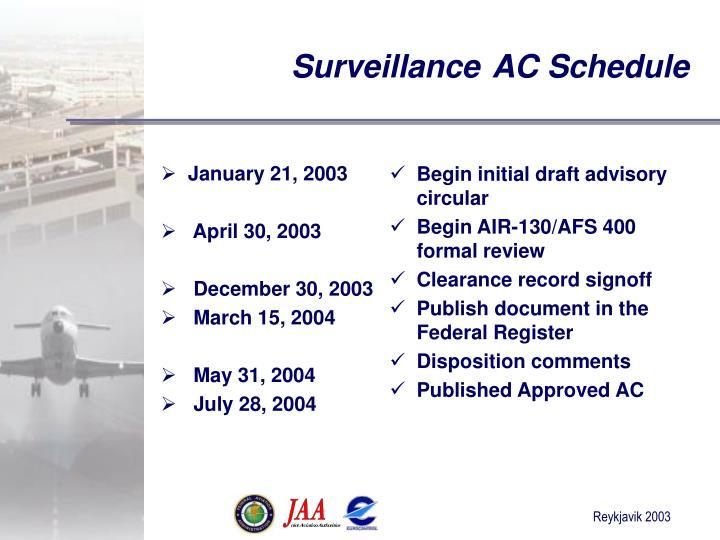 January 21, 2003