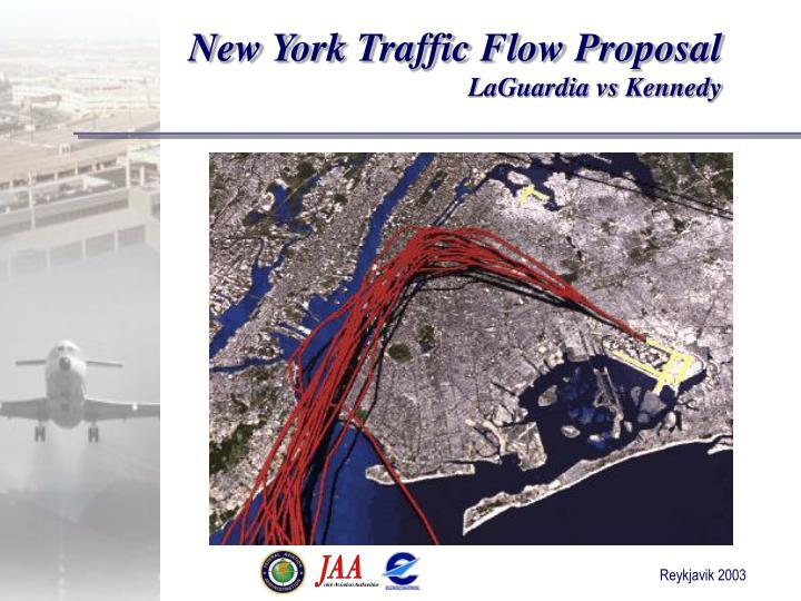 New York Traffic Flow Proposal