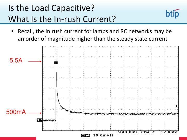 Is the Load Capacitive?