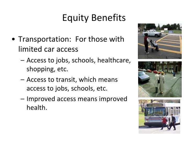 Equity Benefits