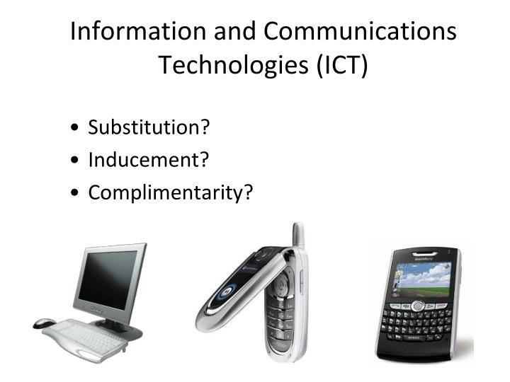 Information and Communications Technologies (ICT)