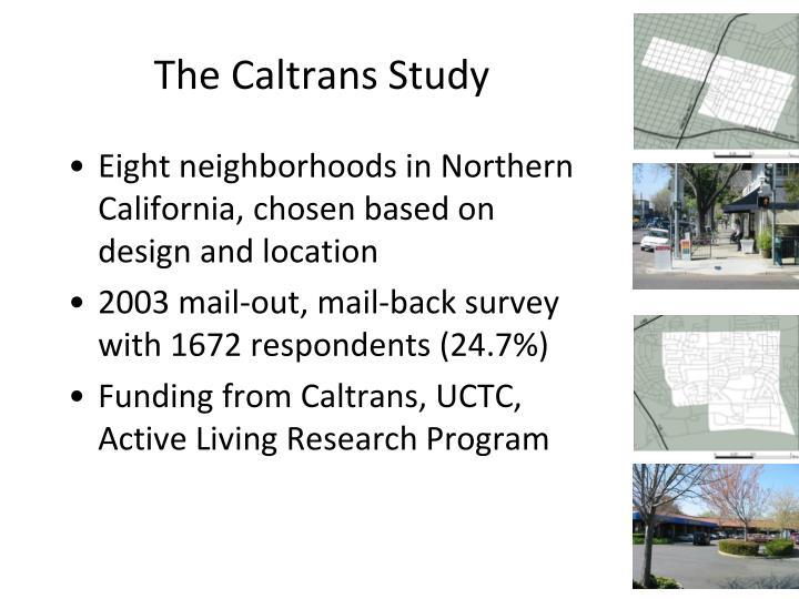 The Caltrans Study