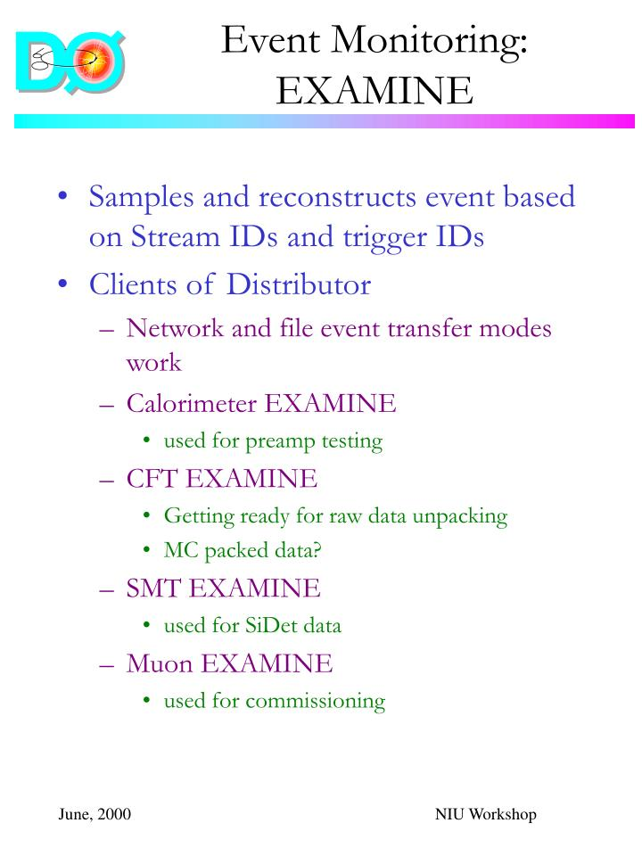 Event Monitoring:
