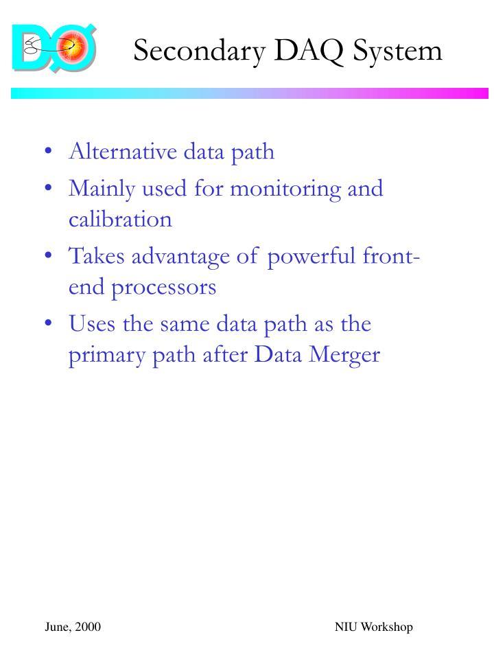 Secondary DAQ System