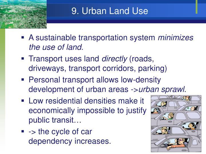 9. Urban Land Use