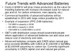 future trends with advanced batteries