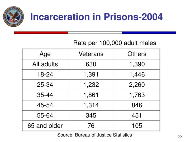Incarceration in Prisons-2004