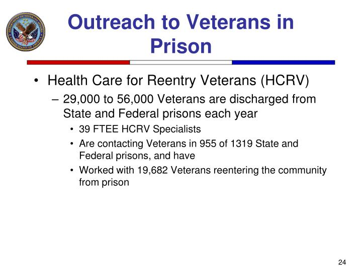 Outreach to Veterans in Prison