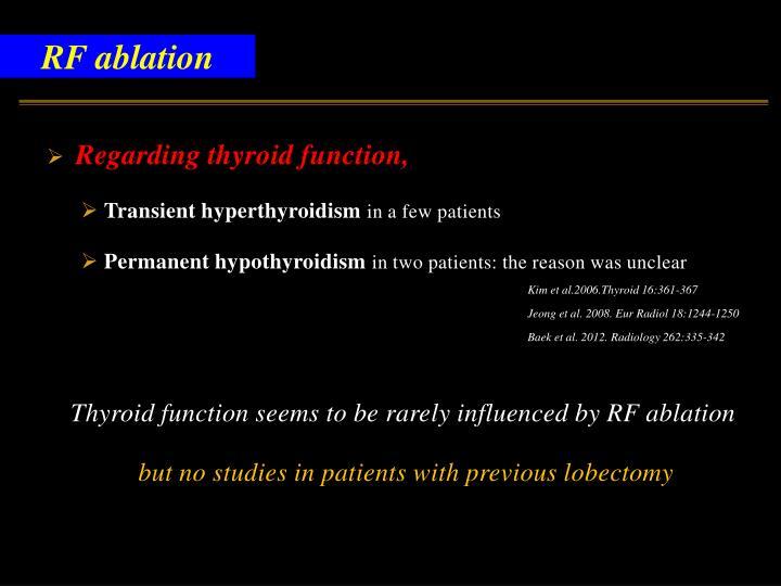 RF ablation