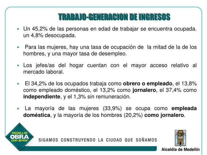 TRABAJO-GENERACION DE INGRESOS