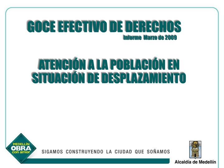 GOCE EFECTIVO DE DERECHOS