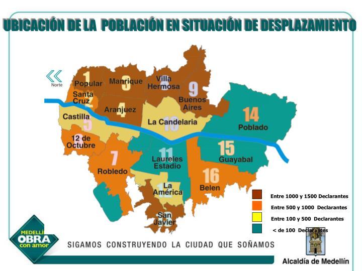 MAPA DE UBICACIÓN DE LA POBLACIÓN