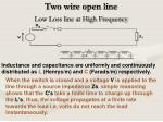 two wire open line4