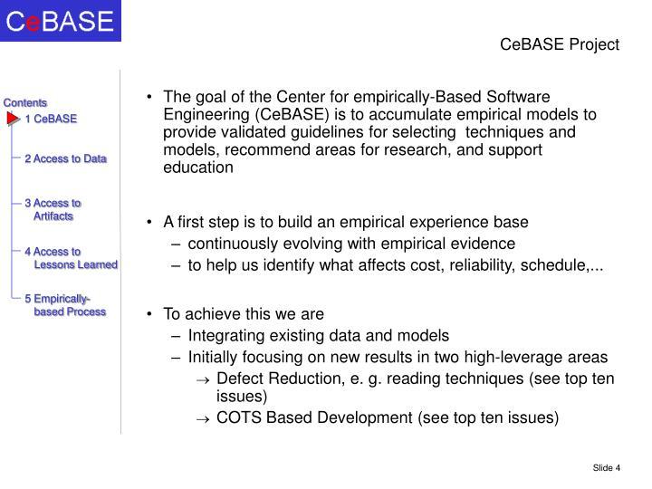 Cebase project