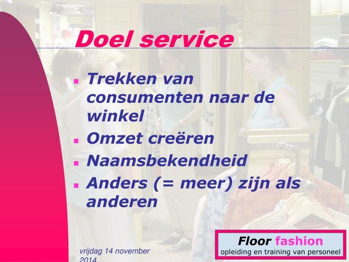 Doel service
