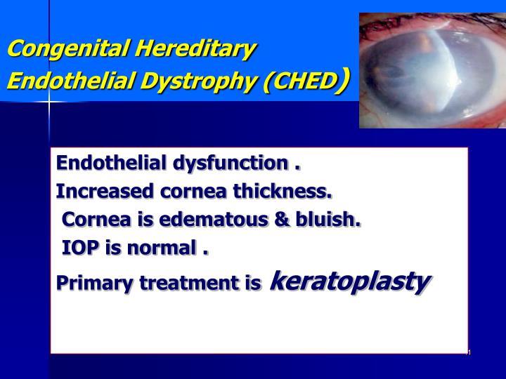 Congenital Hereditary