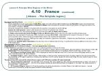lesson 4 principle wine regions of the world 4 10 france continued alsace the fairytale region