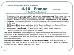 lesson 4 principle wine regions of the world 4 10 france continued south west region