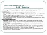 lesson 4 principle wine regions of the world 4 12 greece