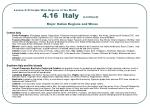 lesson 4 principle wine regions of the world 4 16 italy continued major italian regions and wines1