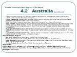 lesson 4 principle wine regions of the world 4 2 australia continued