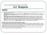 lesson 4 principle wine regions of the world 4 4 bulgaria