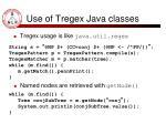use of tregex java classes