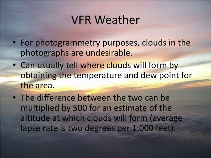VFR Weather