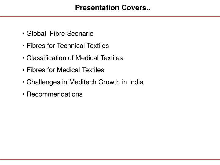 Presentation Covers..