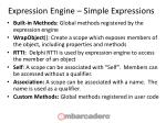 expression engine simple expressions1