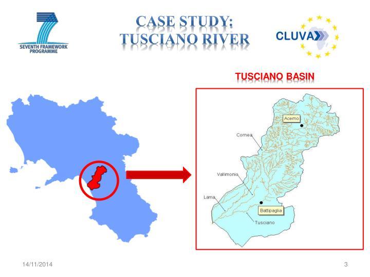 Case study tusciano river