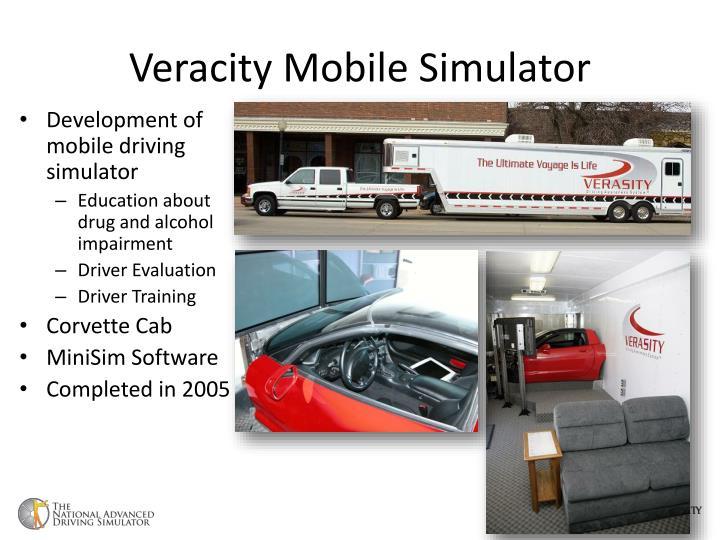 Veracity Mobile Simulator