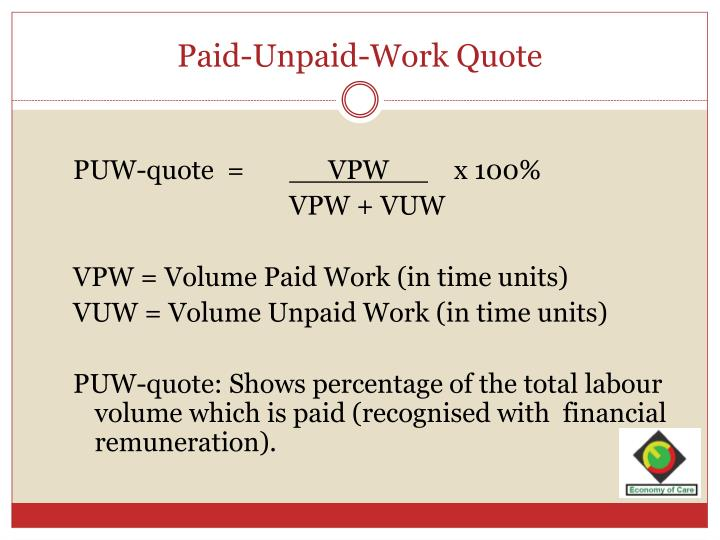Paid-Unpaid-Work Quote