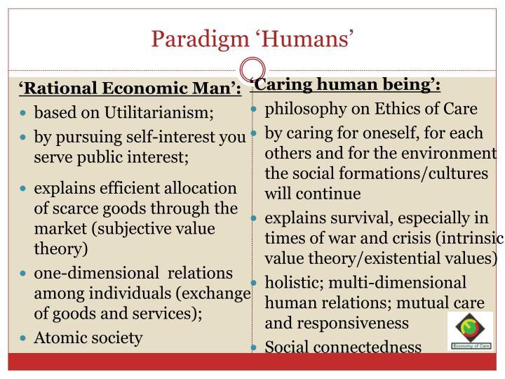 Paradigm 'Humans'