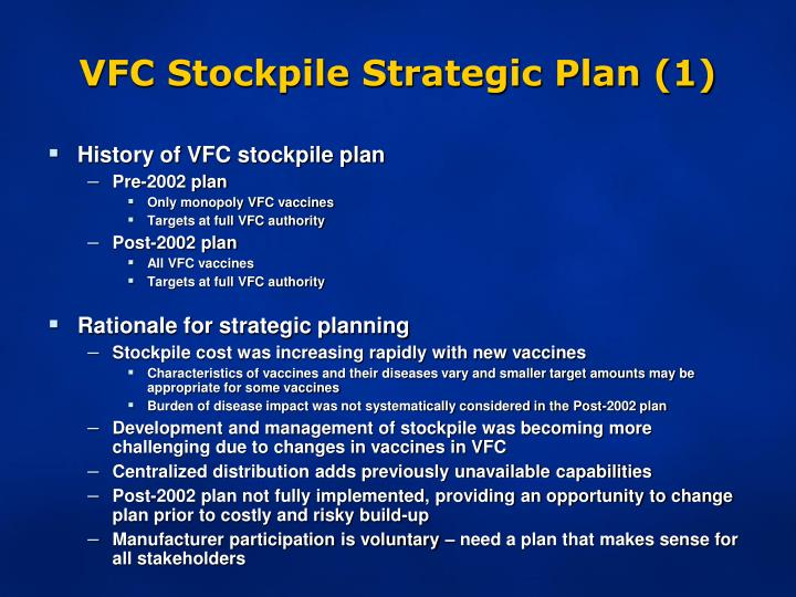VFC Stockpile Strategic Plan (1)