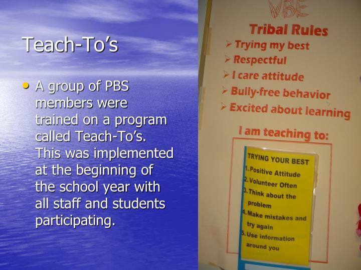 Teach-