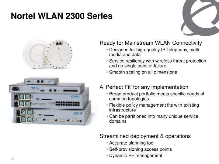 Nortel WLAN 2300 Series