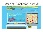 mapping using crowd sourcing3