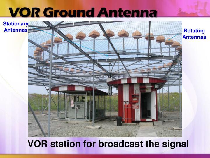 VOR Ground Antenna