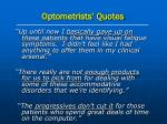 optometrists quotes