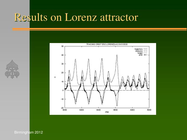 Results on Lorenz attractor