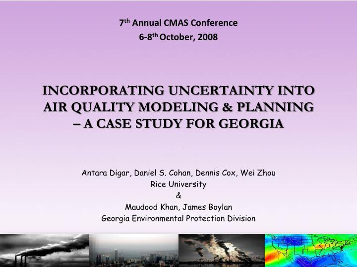 7 th annual cmas conference 6 8 th october 2008