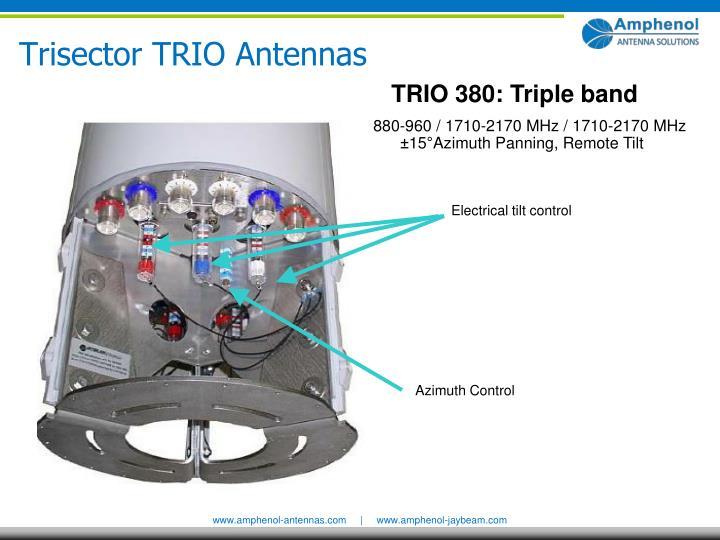 TRIO 380: Triple band
