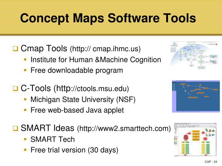 Concept Maps Software Tools
