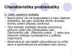 charakteristika problematiky2