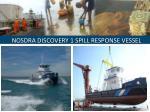 nosdra discovery 1 spill response vessel